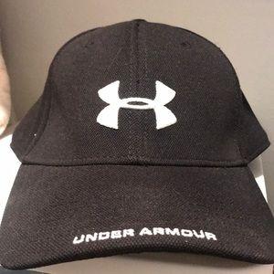 New Under Armor Large Baseball Cap Black